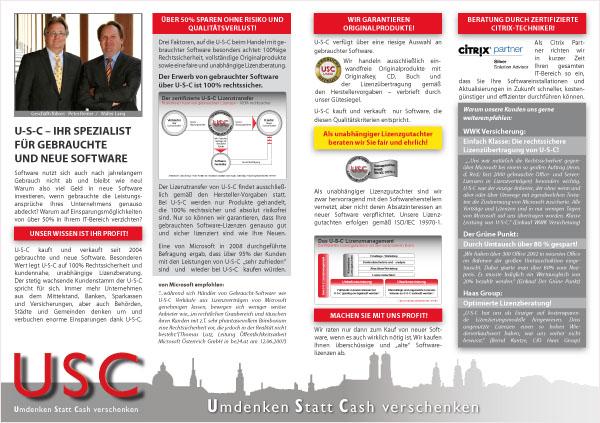 USC Software Firmenprofil