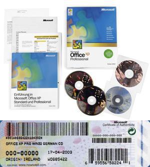 Microsoft Office XP Retail
